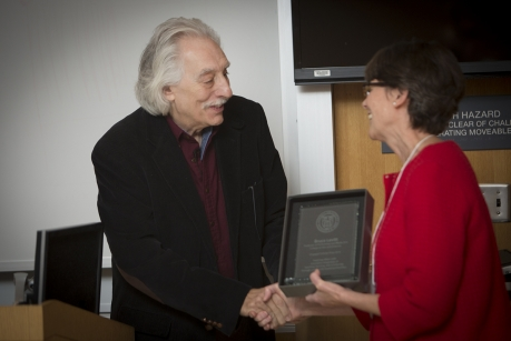 Bruce Levitt gives Engaged Scholar Prize lecture