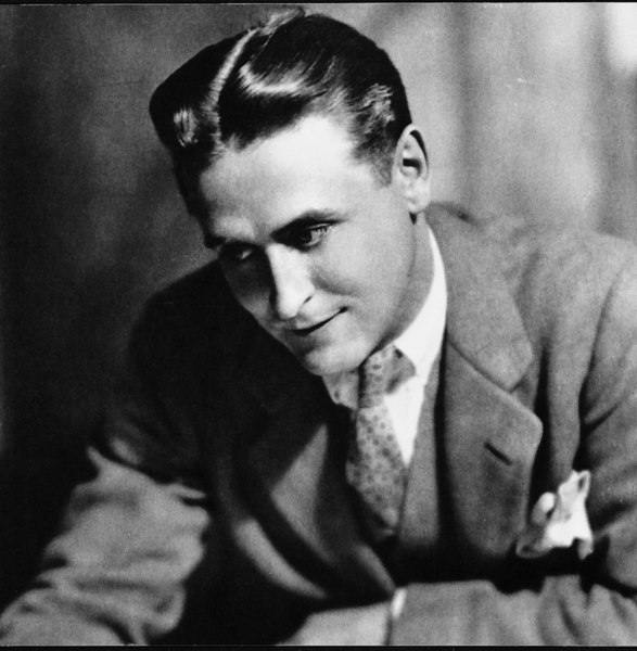 'f scott fitzgerald's characters are materially